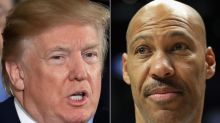 Trump and father of UCLA player spar over arrest in China