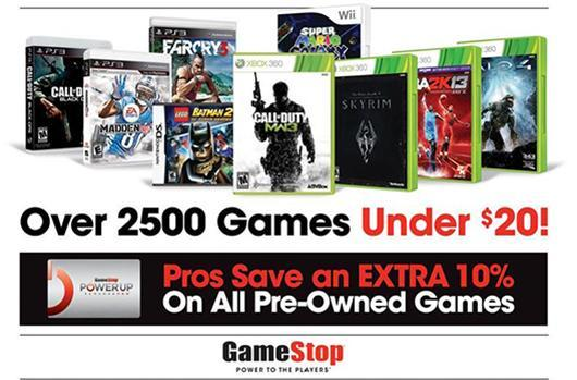 GameStop Easter Weekend sale offers 'Buy 2, Get 1 Free' on used games under $20