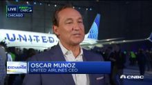 United Airlines CEO on Boeing, animal policy and jet fuel prices