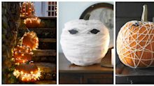 These No-Carve Pumpkin Ideas Are So Easy To Do