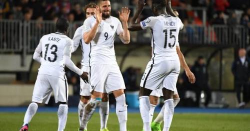 Foot - Bleus - Luxembourg - France en chiffres