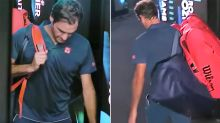 New video reveals Roger Federer's heartbreaking reaction to loss