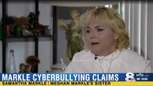 Samantha Markle claims she's the victim of cyberbullying: 'I was being stalked and harassed'
