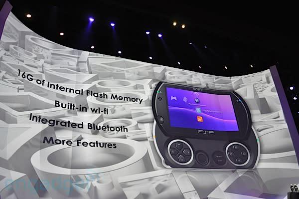 Sony PSP Go announced -- $249, no UMD