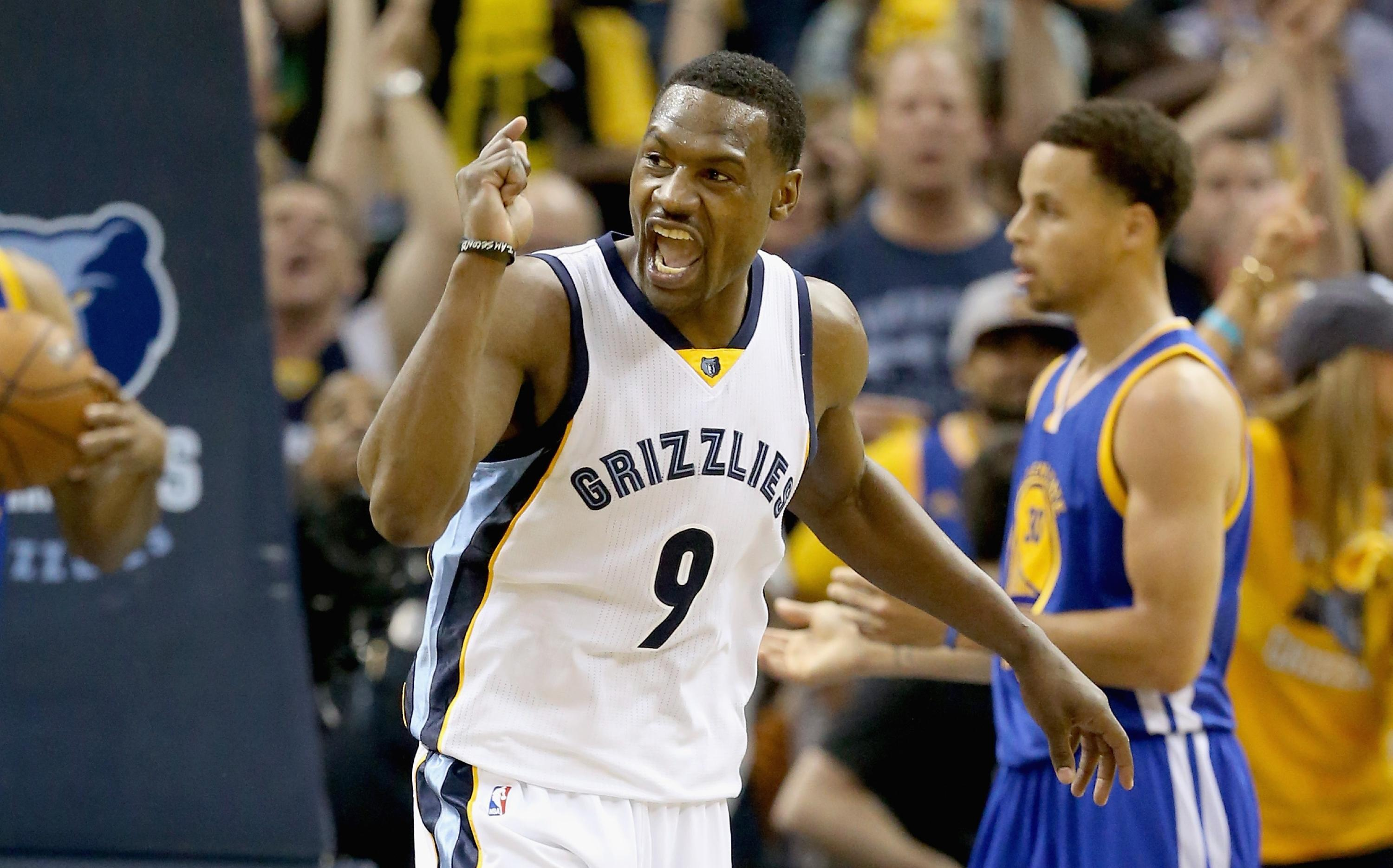 As Warriors push Grizzlies to brink of elimination, Tony Allen vows to play in Game 6