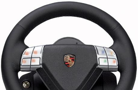Fanatec's Porsche 911 Turbo S racing wheel plays on Xbox 360, PS3 and PC