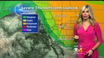 Wednesday Afternoon Forecast: Storms Return