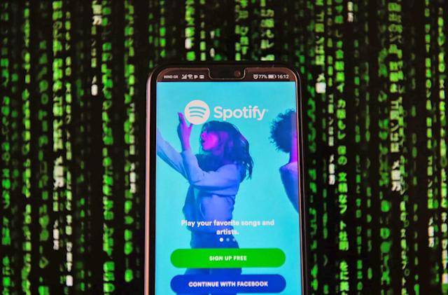 Spotify might let users build and listen to playlists together