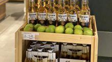 Corona: Biermarke beweist schrägen Humor