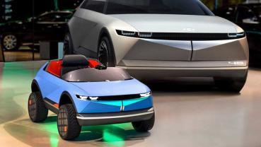 現代發表超迷你電動車:採用木頭打造車身,還會感應情緒並改良駕駛體驗