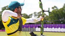Turkey's Aussie ouster wins archery gold
