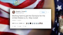 As L.A. anticipates being chosen to host Olympics, Trump prepares to take credit