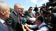 Turkey is a 'target of economic war', Erdogan says