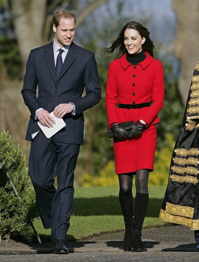 Kate and William visit their Alma Mater, St. Andrews University, for its 600th anniversary celebrations.