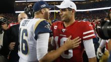 Jimmy Garoppolo, Jared Goff not separated by much as QBs, Chris Simms says