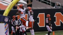 Big loss: Browns take first steps without injured Beckham