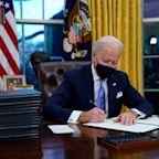 Biden launches blitz of executive action undoing Trump's legacy faster than any predecessor