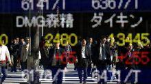 La Bolsa de Tokio cierra a la baja tras tocar su máximo intradía en 26 años