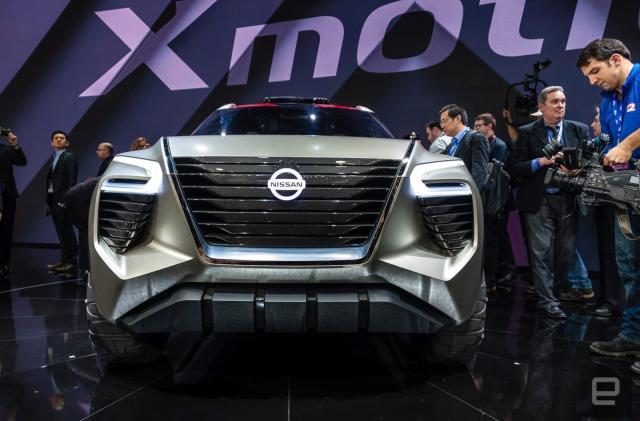 Nissan's Xmotion concept swaps key fobs for fingerprints