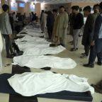 Bomb kills 50 people, including teenage girls, near school in Afghanistan