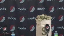 Trail Blazers' Twitter account hilariously welcomes 'cash considerations' to Portland