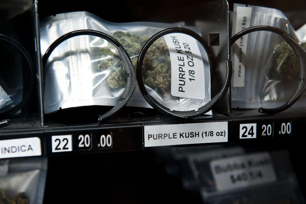The WHO chief has warned against widespread legalisation of recreational marijuana (AFP Photo/Don MacKinnon)