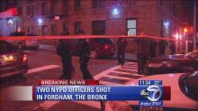 NYPD: 2 police officers shot in the Bronx