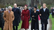 Kate and Meghan join the rest of the royals at Christmas Day church service
