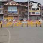 Srinagar streets deserted as two-day curfew imposed across Kashmir on autonomy revocation anniversary
