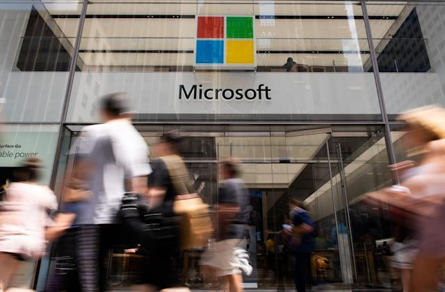 Microsoft briefly surpassed Apple as world's most valuable company