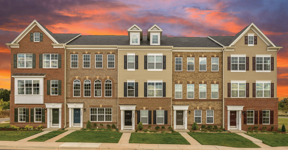 New Townhomes in Frederick from the Mid $200s