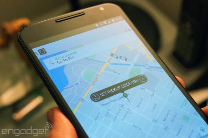 Some of the cars on Uber's maps don't really exist