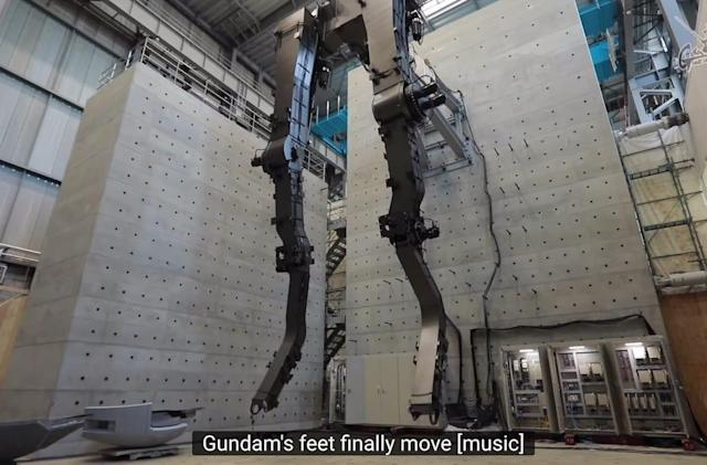 Japan's life-size 18m Gundam statue can move (a little)