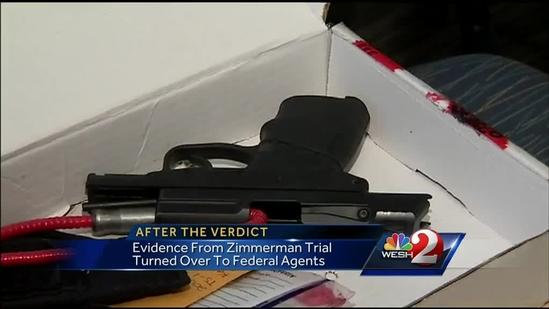 NAACP looks to keep gun from George Zimmerman