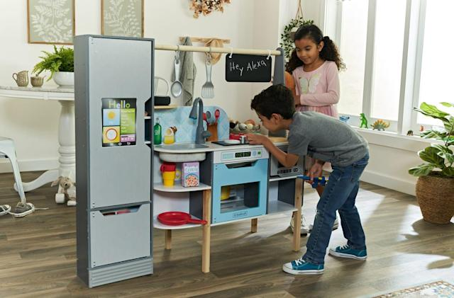 For $300, you can get an Alexa-powered kitchen for your kids