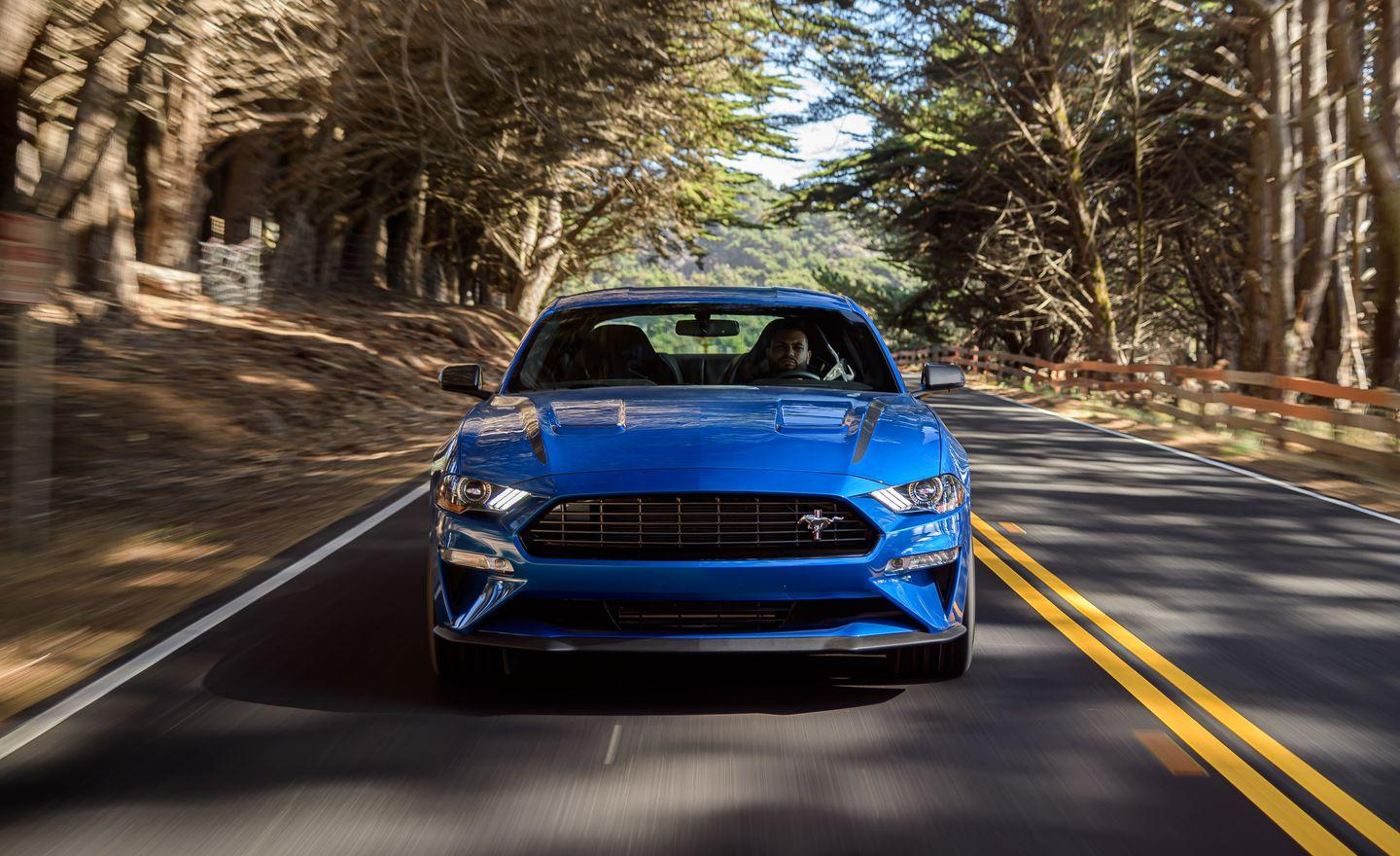 <p>For the 2020 model year, the Ford Mustang EcoBoost coupe and convertible are available with the High Performance package, which adds exclusive styling, a more exciting engine, and better handling characteristics.</p>