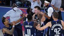 Basket - NBA - NBA: Luka Doncic abat les LA Clippers, Dallas égalise dans la série