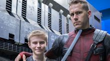 Ryan Reynolds Meets Some Real Life Heroes as Young Fans from Make-A-Wish Visit the Deadpool Set