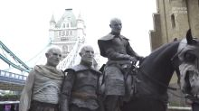 'Game of Thrones' White Walkers Ride Into London and Other Brilliant Marketing Stunts