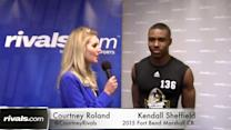 Army Combine: Kendall Sheffield