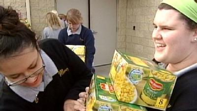 Mercy High Helps Hungry With 'Operation Others'