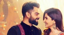 Lovebirds Virat Kohli and Anushka Sharma can't take their eyes off each other