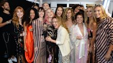 Actresses, models, a chef and a singer walk in Temperley London's inclusive London Fashion Week show