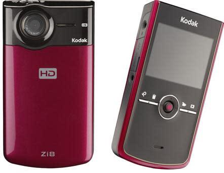 Kodak's Zi8 HD pocket camcorder hits the 1080p mark, adds Facebook uploading