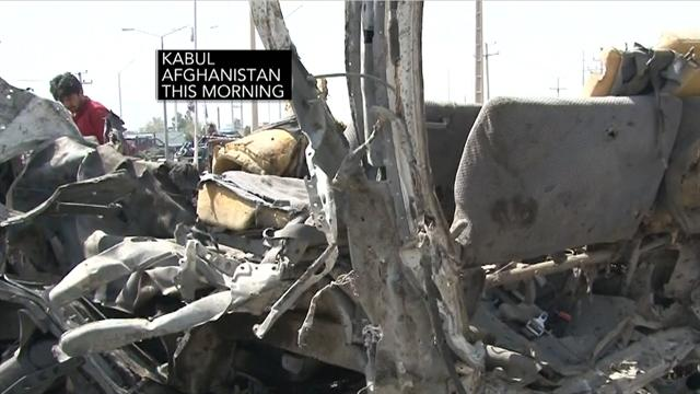 Militant group claims credit for Afghan suicide attack