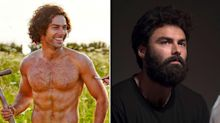 'Poldark' star Aidan Turner unrecognisable after growing huge beard