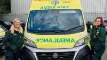 Paramedic who was knifed in the chest during 999 call returns to work