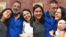 Sanjay Dutt Celebrates Raksha Bandhan With His Sisters Priya Dutt, Namrata Kumar