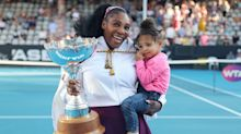 Serena Williams' Daughter Made Up For Otherwise Empty Stands At U.S. Open