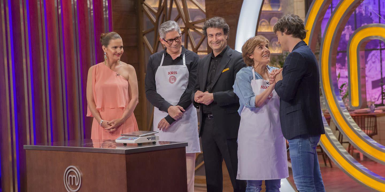 Anabel Alonso Tetas boris izaguirre y anabel alonso vuelven a las cocinas de